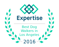Best Dog Walker, Award